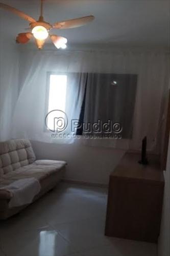 ref.: 1127 - apartamento em praia grande, no bairro forte - 2 dormitórios