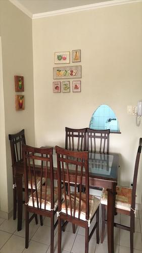 ref.: 1128 - apartamento em guaruja, no bairro barra funda - 2 dormitórios