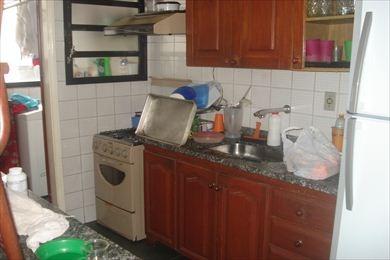 ref.: 1129 - apartamento em praia grande, no bairro guilhermina - 2 dormitórios