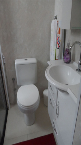 ref.: 1130 - apartamento em praia grande, no bairro vila guilhermina - 2 dormitórios