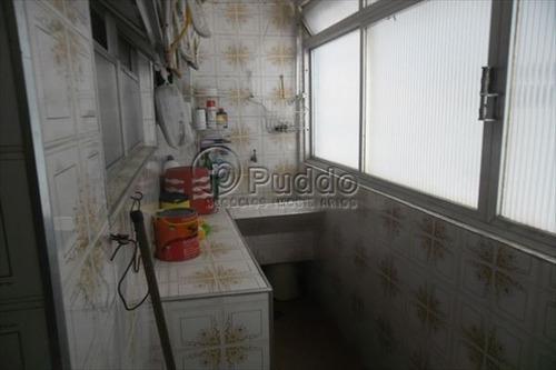 ref.: 1131 - apartamento em praia grande, no bairro forte - 2 dormitórios