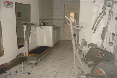 ref.: 1133 - casa condomínio fechado em praia grande, no bairro guilhermina - 2 dormitórios