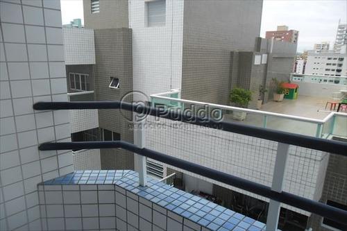 ref.: 1134 - apartamento em praia grande, no bairro canto do forte - 2 dormitórios