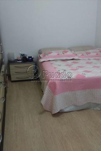 ref.: 1136 - apartamento em praia grande, no bairro boqueirao - 2 dormitórios