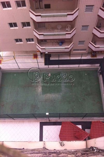 ref.: 1137 - apartamento em praia grande, no bairro mirim - 1 dormitórios