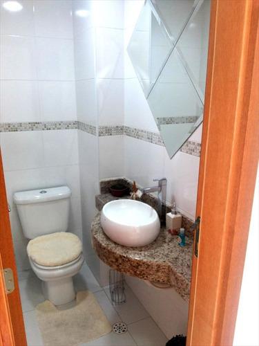 ref.: 1138 - apartamento em praia grande, no bairro boqueirao - 2 dormitórios