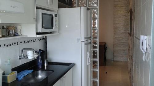 ref.: 115 - apartamento em praia grande, no bairro boqueirao - 1 dormitórios