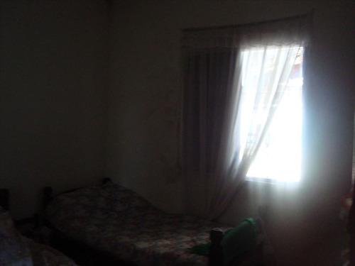 ref.: 115100 - casa em praia grande, no bairro vila mirim - 2 dormitórios