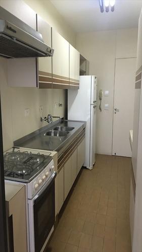 ref.: 1155 - apartamento em guaruja, no bairro barra funda - 2 dormitórios
