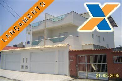 ref.: 1158 - casa em praia grande, no bairro canto do forte - 3 dormitórios