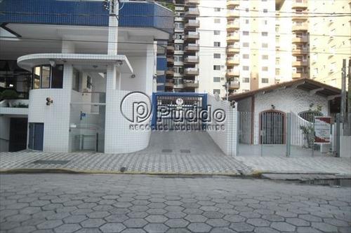 ref.: 1160 - apartamento em praia grande, no bairro forte - 2 dormitórios
