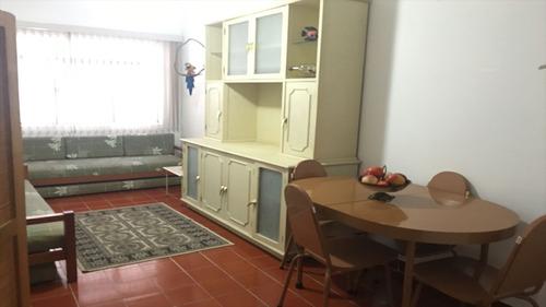 ref.: 1162 - apartamento em guaruja, no bairro jardim astúrias - 1 dormitórios