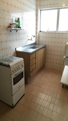 ref.: 1174 - apartamento em guaruja, no bairro pitangueiras - 2 dormitórios
