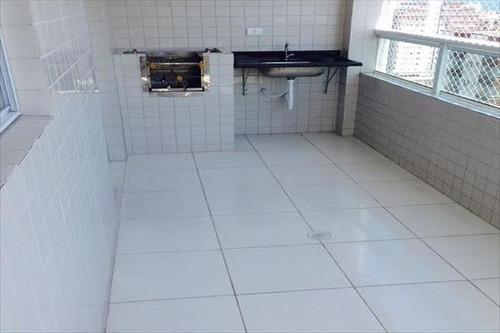 ref.: 1175 - apartamento em praia grande, no bairro ocian - 2 dormitórios