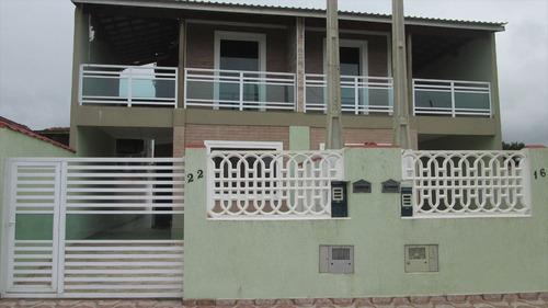ref.: 118 - casa em itanhaém, no bairro bopiranga - 3 dormitórios