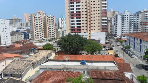 ref.: 1184 - apartamento em praia grande, no bairro vila guilhermina - 2 dormitórios