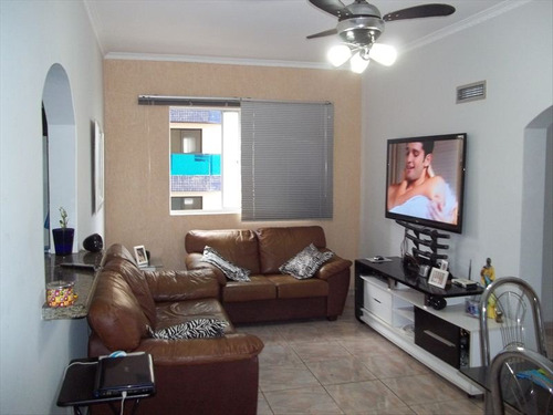 ref.: 118900 - apartamento em praia grande, no bairro vila tupi - 3 dormitórios