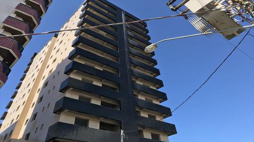 ref.: 1190 - apartamento em praia grande, no bairro vila guilhermina - 2 dormitórios