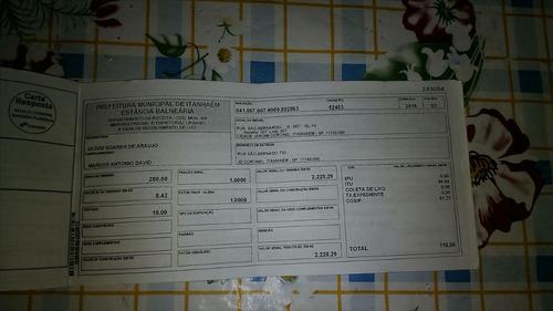 ref.: 11900 - casa em itanhaém, no bairro jardim coronel - 3 dormitórios