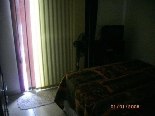 ref.: 119000 - casa em praia grande, no bairro sitio do campo - 2 dormitórios