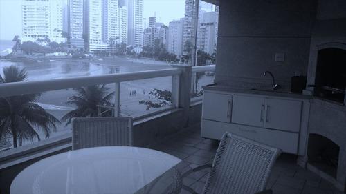 ref.: 1191 - apartamento em guaruja, no bairro jardim astúrias - 4 dormitórios