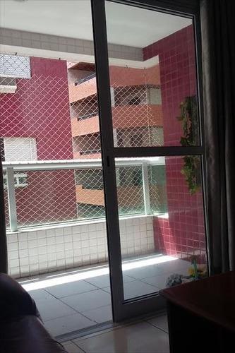 ref.: 1195 - apartamento em praia grande, no bairro canto do forte - 2 dormitórios