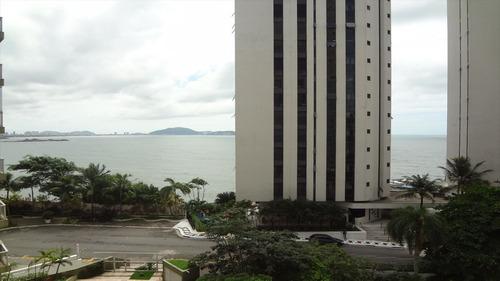 ref.: 1198 - apartamento em guaruja, no bairro jardim astúrias - 2 dormitórios