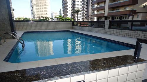 ref.: 1200 - apartamento em praia grande, no bairro vila guilhermina - 2 dormitórios