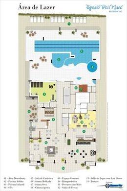 ref.: 12010300 - apartamento em praia grande, no bairro forte - 3 dormitórios