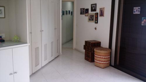 ref.: 1204 - apartamento em guarujá, no bairro jardim astúrias - 3 dormitórios