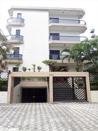 ref.: 121900 - apartamento em praia grande, no bairro vila guilhermina - 2 dormitórios