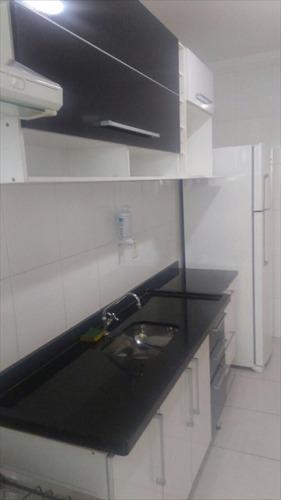 ref.: 1220 - apartamento em praia grande, no bairro vila guilhermina - 1 dormitórios