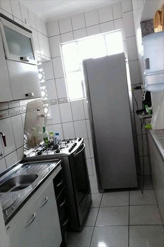 ref.: 1221 - apartamento em praia grande, no bairro guilhermina - 1 dormitórios