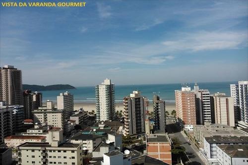 ref.: 1222 - apartamento em praia grande, no bairro guilhermina - 3 dormitórios
