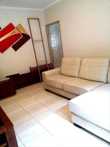 ref.: 1224 - apartamento em praia grande, no bairro guilhermina - 2 dormitórios