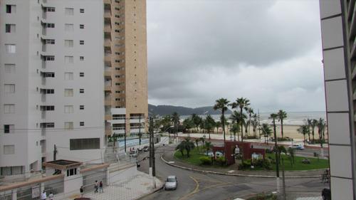 ref.: 123 - apartamento em praia grande, no bairro guilhermina - 2 dormitórios
