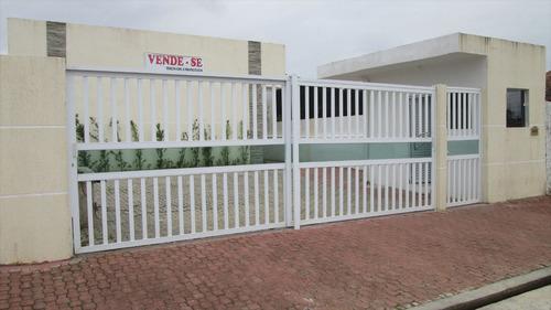 ref.: 123 - casa condomínio fechado em itanhaém, no bairro cibratel ii - 2 dormitórios