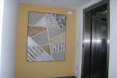 ref.: 123100 - apartamento em santos, no bairro embare - 3 dormitórios