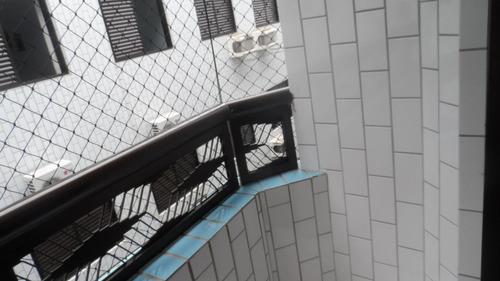 ref.: 1234 - apartamento em praia grande, no bairro vila guilhermina - 2 dormitórios