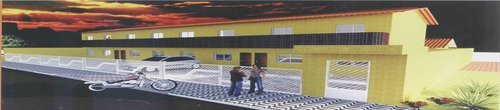 ref.: 1238200 - casa condomínio fechado em praia grande, no bairro tude bastos - 2 dormitórios