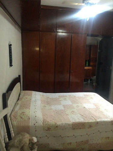 ref.: 123900 - casa em praia grande, no bairro vila guilhermina - 3 dormitórios