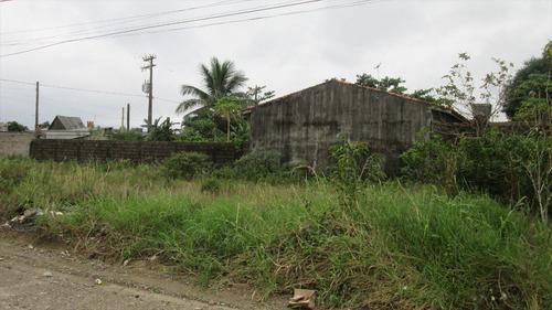 ref.: 124 - terreno em itanhaém, no bairro jardim são fernando