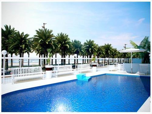 ref.: 1240 - apartamento em praia grande, no bairro mirim - 2 dormitórios