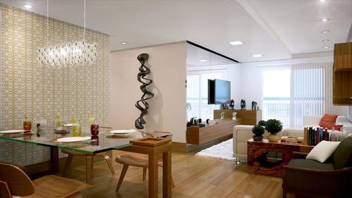 ref.: 1256 - apartamento em praia grande, no bairro campo aviacao - 3 dormitórios