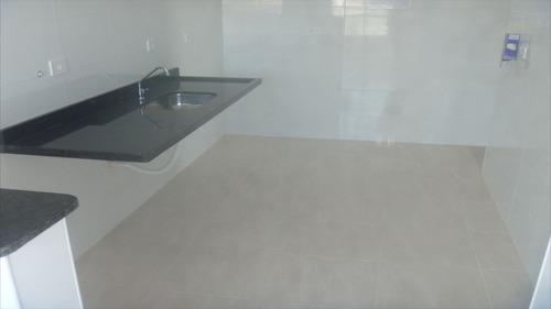 ref.: 1258 - apartamento em praia grande, no bairro boqueirao - 2 dormitórios