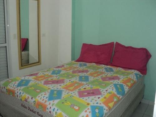 ref.: 1258800 - apartamento em praia grande, no bairro guilhermina - 2 dormitórios