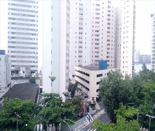 ref.: 1267 - apartamento em guaruja, no bairro barra funda - 2 dormitórios