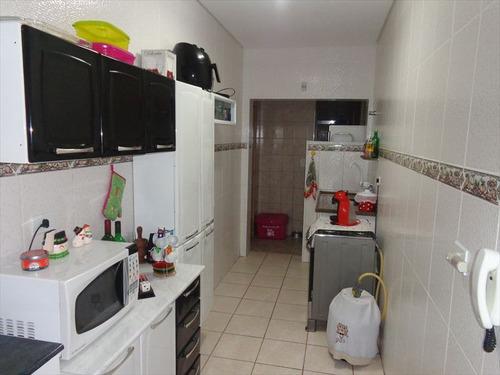 ref.: 1267 - casa em praia grande, no bairro caicara - 1 dormitórios