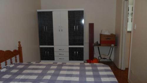 ref.: 1269 - apartamento em praia grande, no bairro vila guilhermina - 1 dormitórios