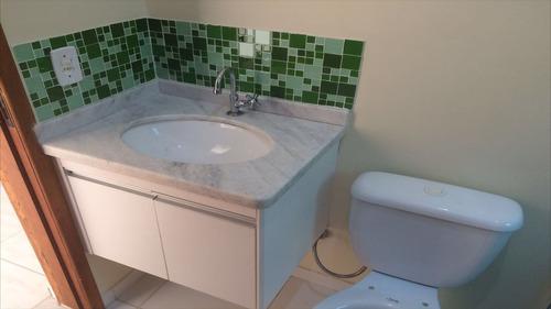 ref.: 12700 - casa em itanhaém, no bairro jardim grandesp - 2 dormitórios
